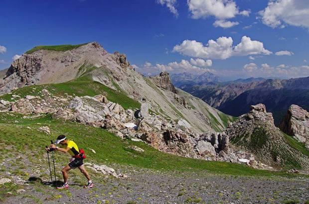 Le terrible Pas de l'Ase de la Skyrace des écrins au Km 32 à 2709m d'altitude ! C'est 600m de D+ sur 1km !